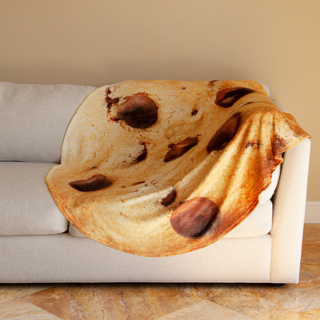 Chocolate Chip Cookie Blanket