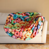 Fruit Hoops Cereal Blanket
