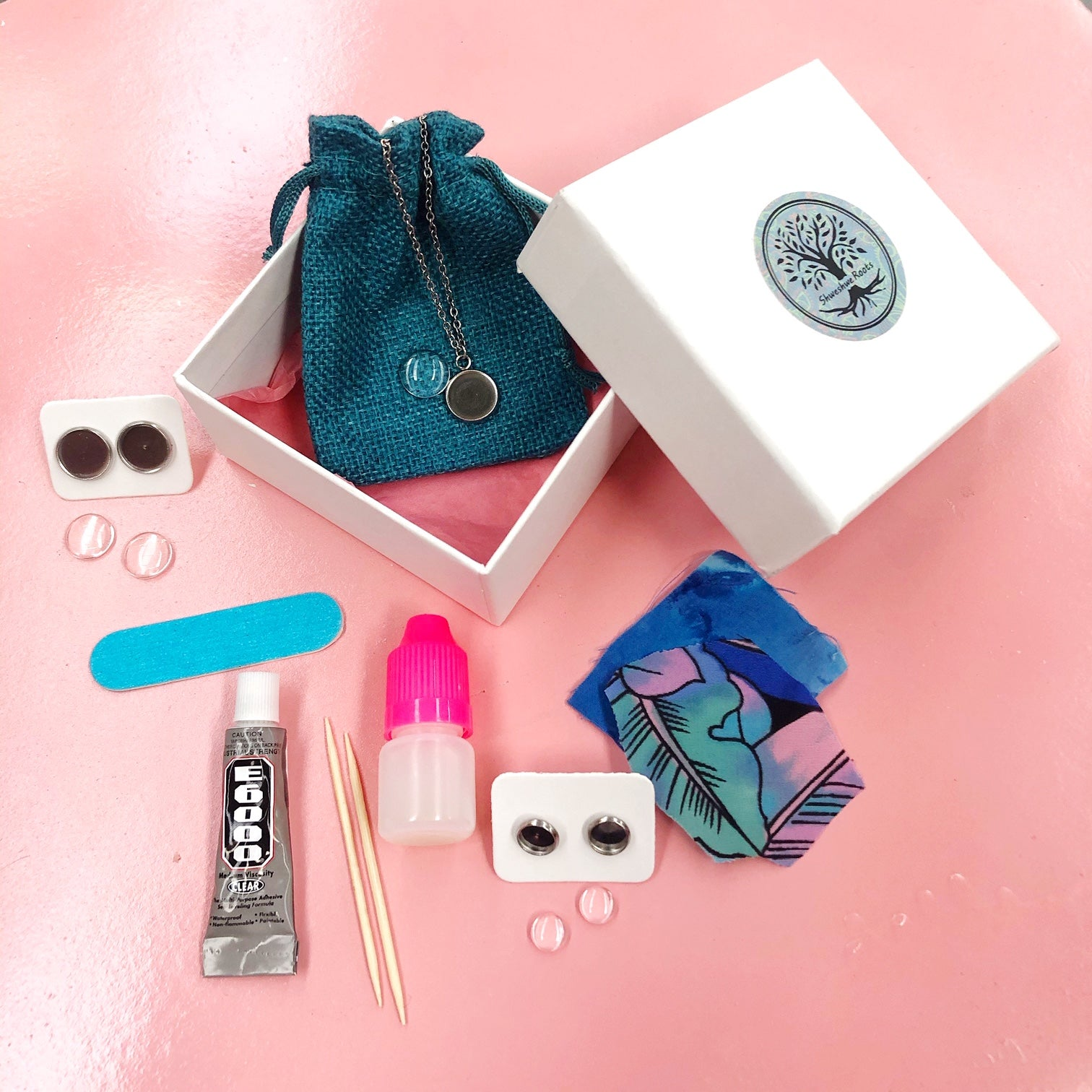 DIY Magic Jewellery Kit- Hoops and Studs (ADD ON Extras Available!)