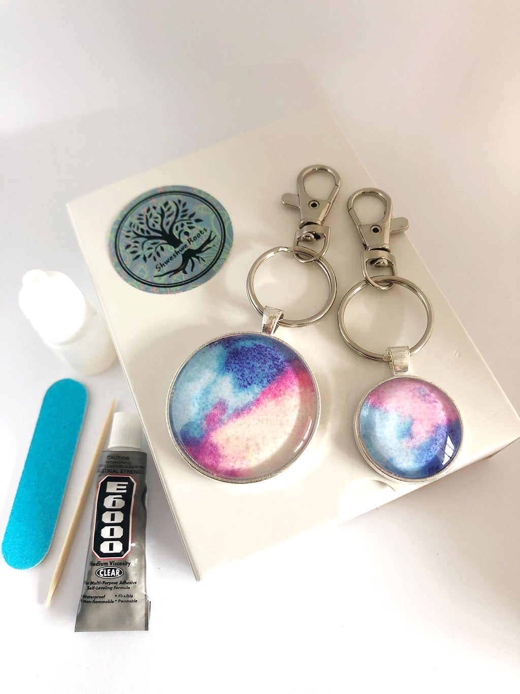 DIY Magic Jewellery Kit- Small Keyring, Large Keyring (ADD ON Extras Available!)