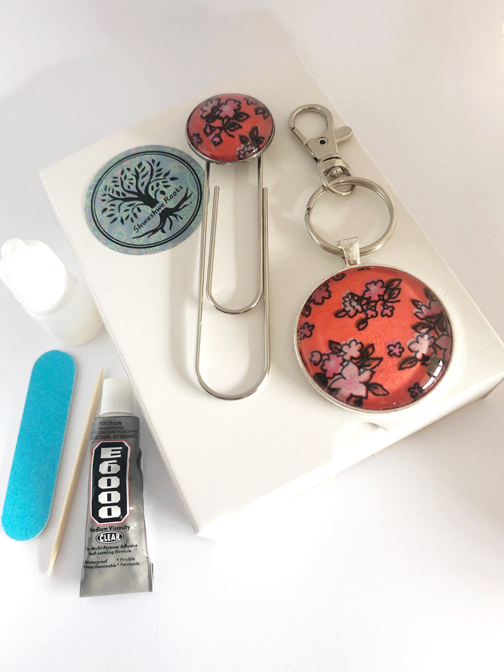 DIY Magic Jewellery Kit- Large Keyring and Bookmark (ADD ON Extras Available!)