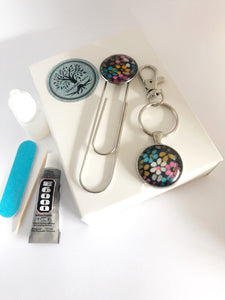 DIY Magic Jewellery Kit- Small Keyring and Bookmark (ADD ON Extras Available!)