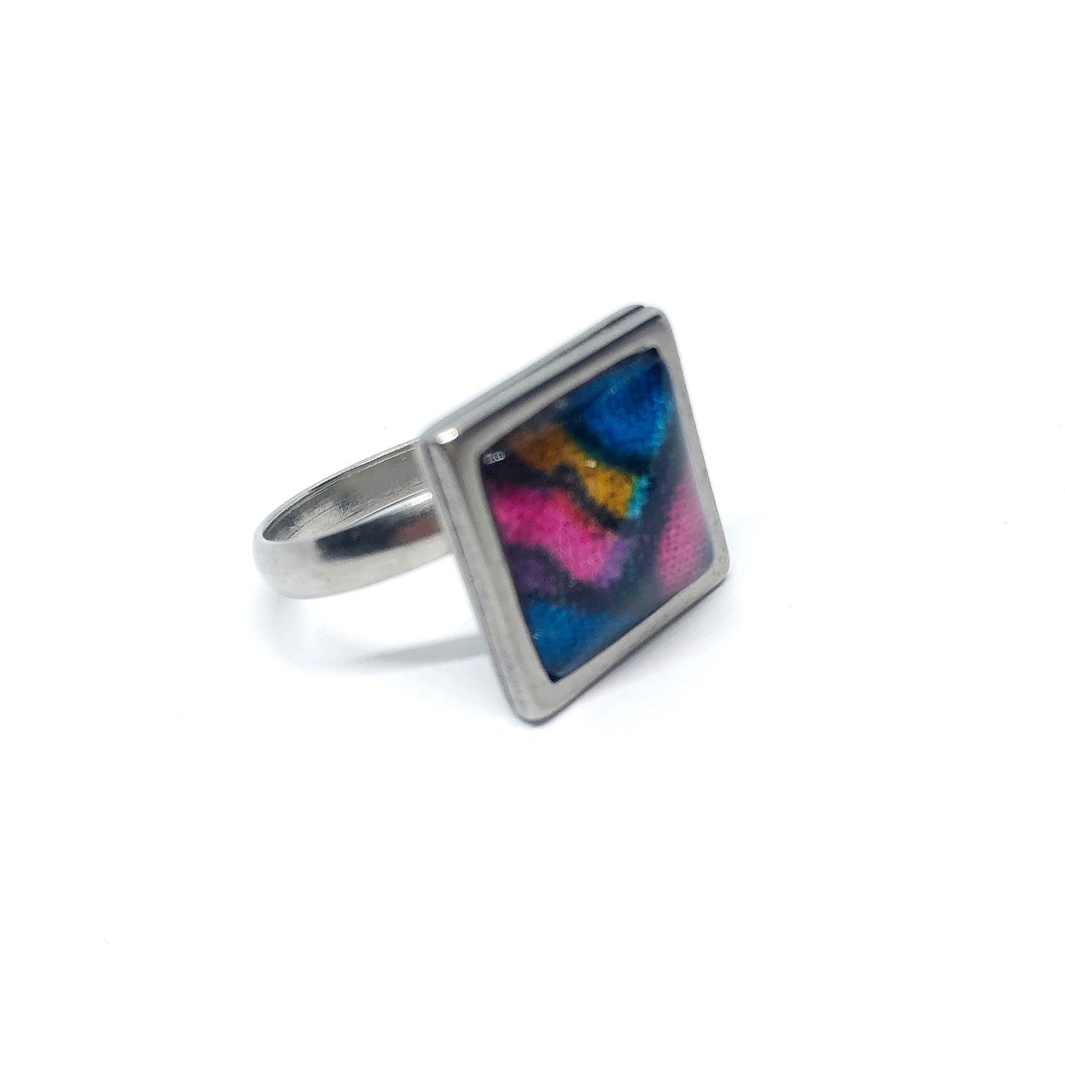 12mm Rainbow adjustable ring