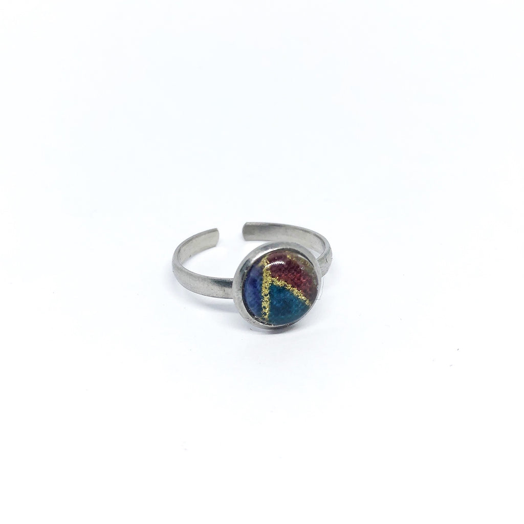 8mm Stainless steel adjustable ring