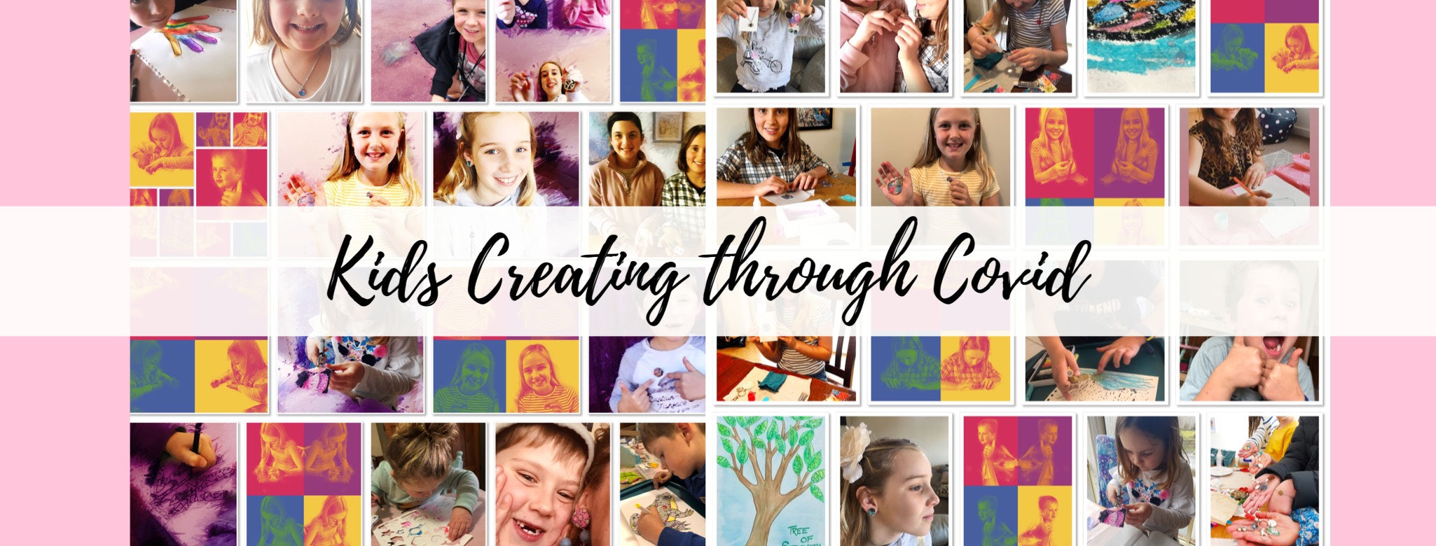 Kids Creating through Covid (3 Sessions- Materials Included