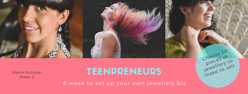 Teenpreneurs- 6 weeks to build a brand