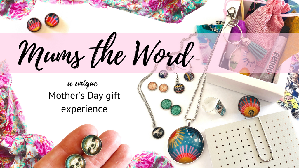 'Mums the Word' Diy jewellery making gift experience for 2!