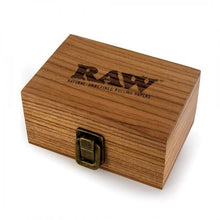 Load image into Gallery viewer, Raw wooden rolling box