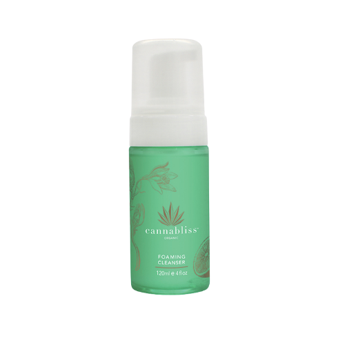 Cannabliss Organic foaming cleanser