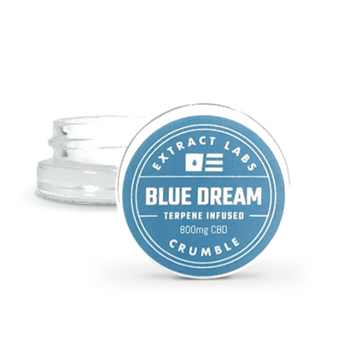 Extract Labs Blue Dream CBD Shatter