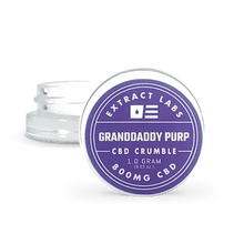 Load image into Gallery viewer, Extract Labs Grandaddy Purp CBD crumble