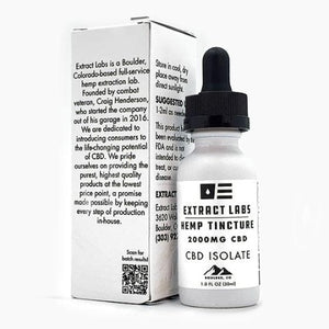 Extract Labs Pure CBD Isolate Tincture