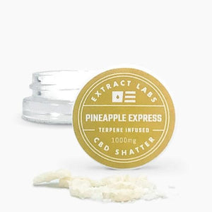 Extract Labs Pineapple Express CBD Shatter