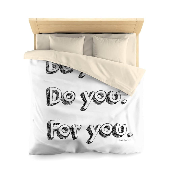 Be You Microfiber Duvet Cover - Your Own Unique