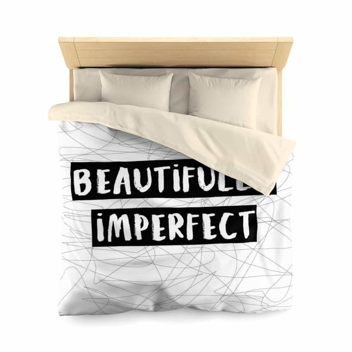 Beautifully Imperfect Microfiber Duvet Cover - Your Own Unique