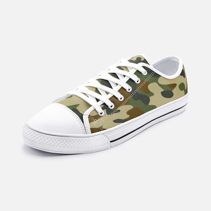 Camo Unisex Low Top Sneakers - Your Own Unique