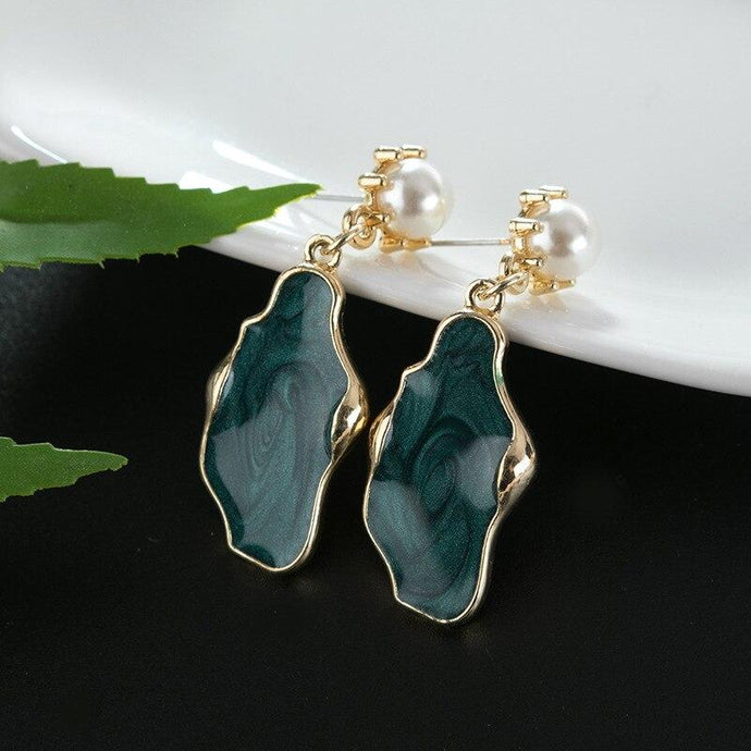 Glaze Pearl Earrings - Your Own Unique
