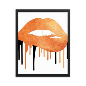 Glitter as Gold Halloween Art Print - Your Own Unique