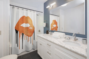 Halloween Lips Shower Curtains - Your Own Unique