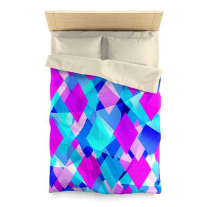 Life In Color Abstract Microfiber Duvet Cover - Your Own Unique