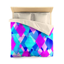 Load image into Gallery viewer, Life In Color Abstract Microfiber Duvet Cover - Your Own Unique
