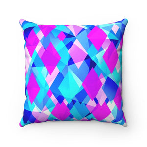 Life In Color Abstract Pillow - Your Own Unique