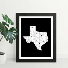 Load image into Gallery viewer, Texas Born & Raised Framed Art Print - Your Own Unique