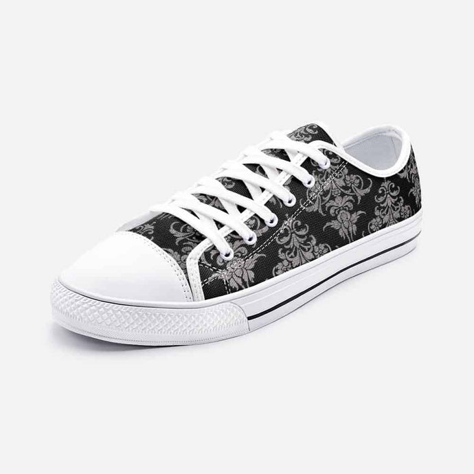 Victorian Unisex Low Top Sneakers - Your Own Unique