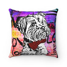 Load image into Gallery viewer, Yorkie Love Pillow