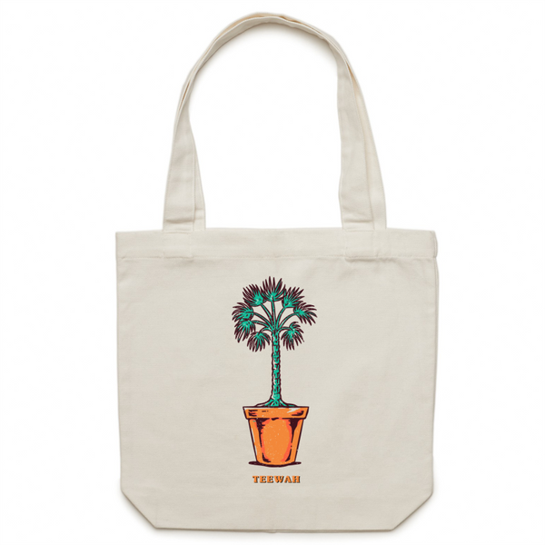 Potted Paradise Tote