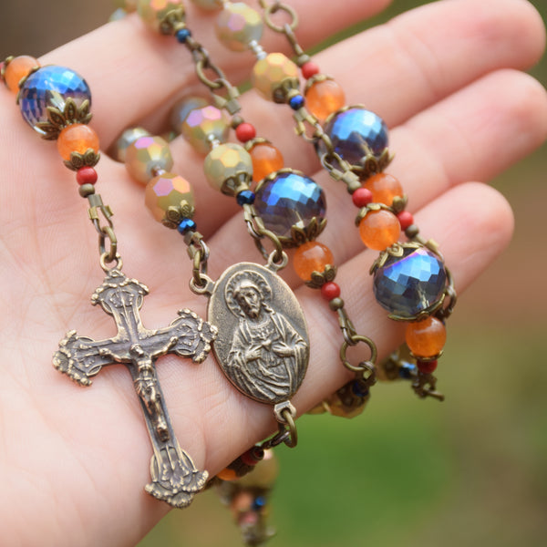 Custom Design - Our Lady of Perpetual Help 5 decade Rosary