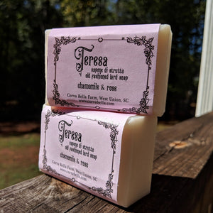 THERESE lard soap - Chamomile & Rose