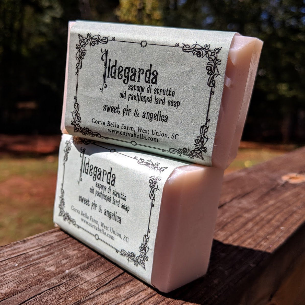 HILDEGARD lard soap - Sweet Fir & Angelica