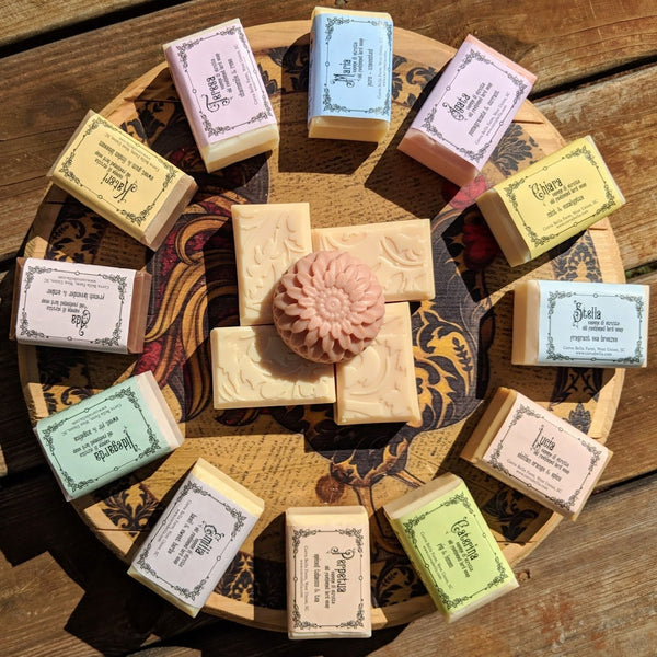 PERPETUA lard soap - Spiced tobacco & Tea