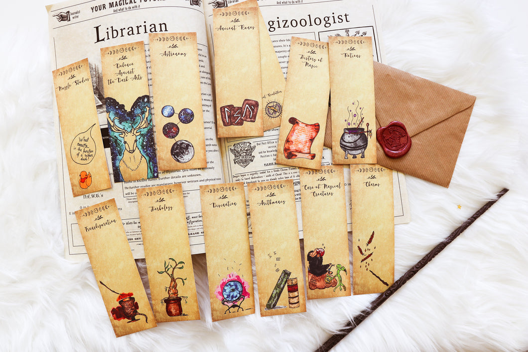 Magical Lessons, Magical Readathon bookmarks (set of 12)