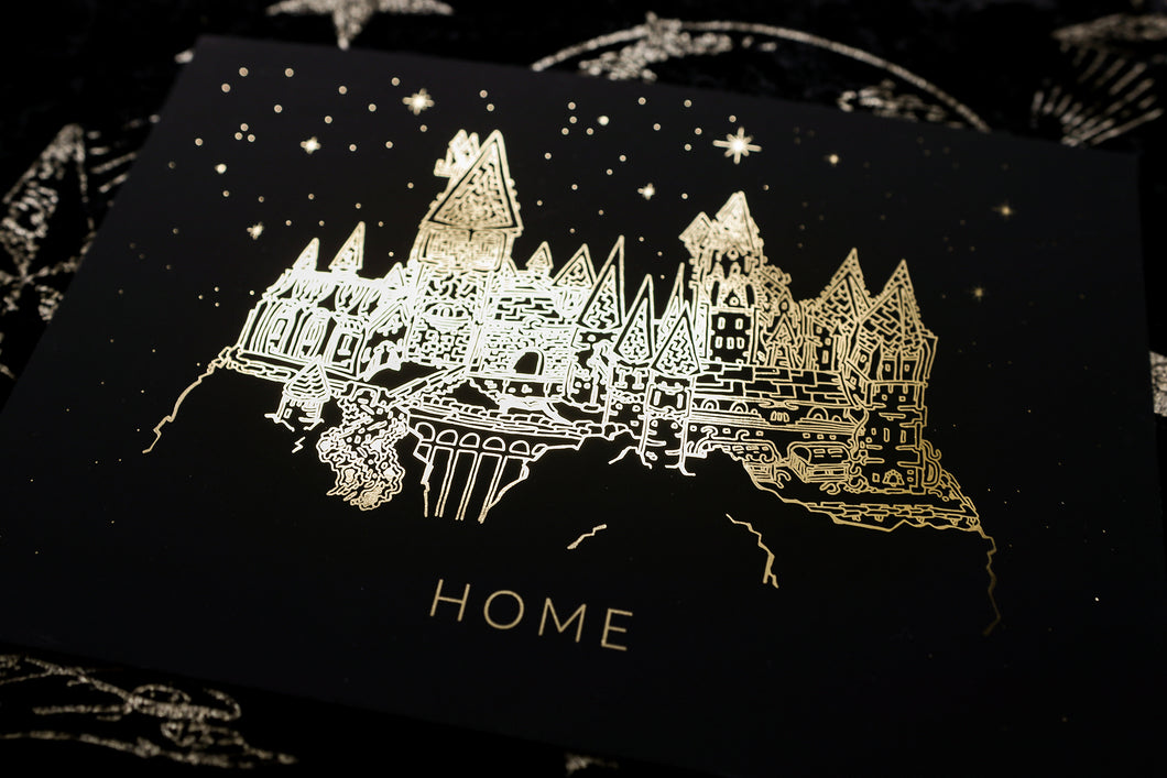 Magical Home A5 Foil Print