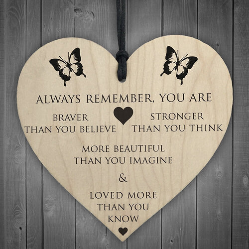 You Are Braver & Stronger Heart