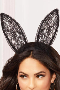 Racy Lacey Bunny Ears - Sex Toys Vancouver Same Day Delivery