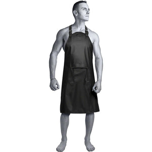 Kink Wet Works Master Apron with Zippered Flap - Sex Toys Vancouver Same Day Delivery
