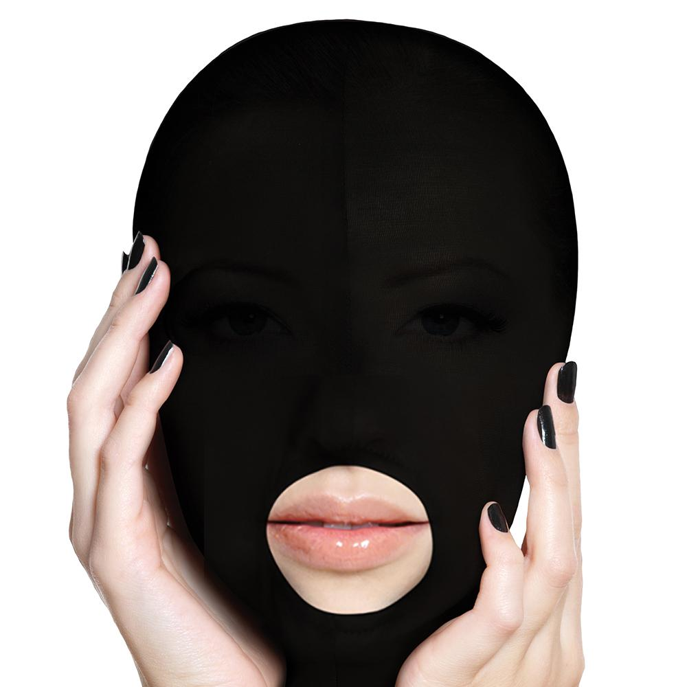 Submission Mask in Black - Sex Toys Vancouver Same Day Delivery