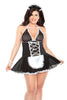 French Maid Babydoll Costume - Sex Toys Vancouver Same Day Delivery