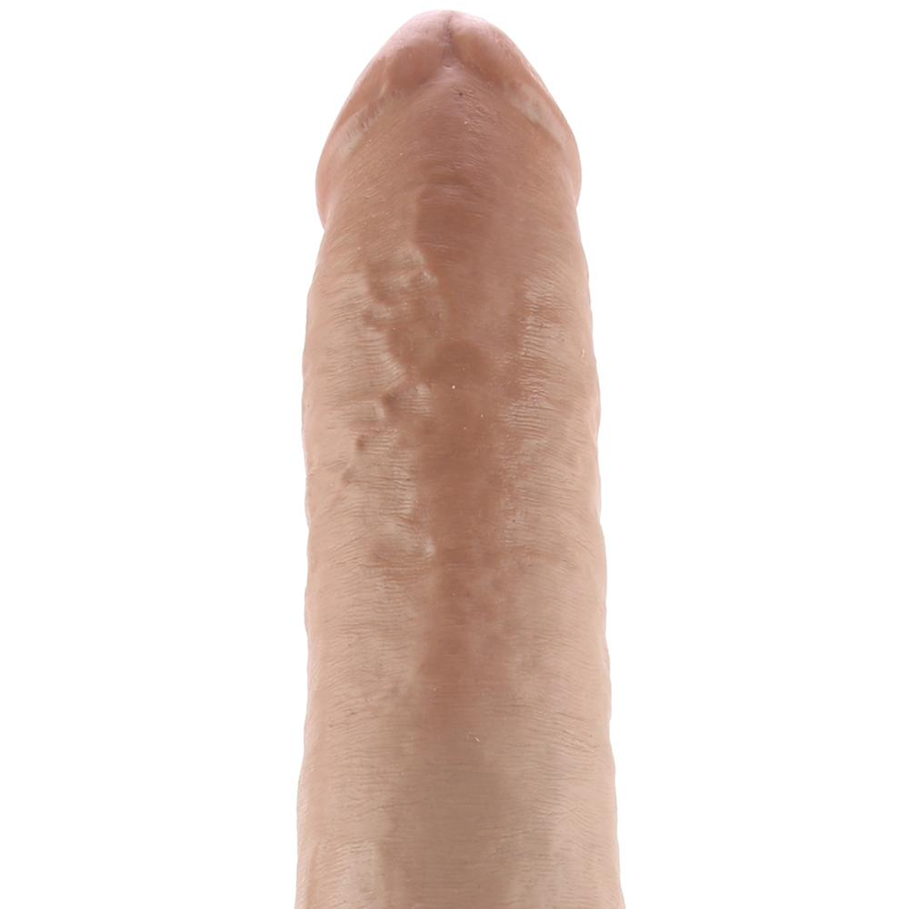 "King Cock 13"" Classic Realistic Dildo in Tan - Sex Toys Vancouver Same Day Delivery"
