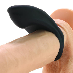 Over Drive Plus Rechargeable C-Ring in Just Black - Sex Toys Vancouver Same Day Delivery
