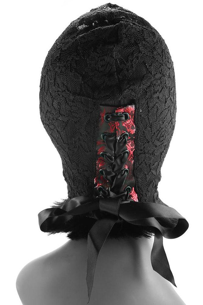 Scandal Corset Lace Hood - Sex Toys Vancouver Same Day Delivery