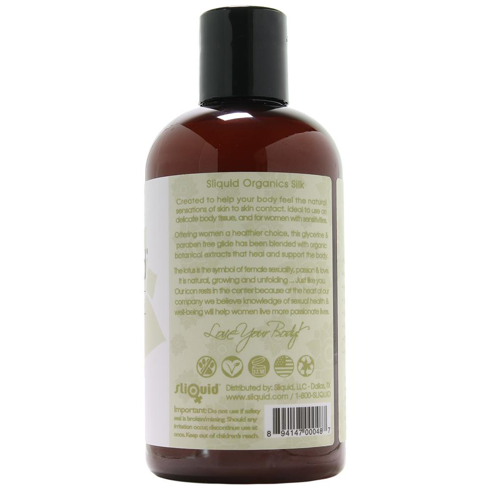 Organics Natural Gel Lubricant Silk in 8.5oz/255ml - Sex Toys Vancouver Same Day Delivery