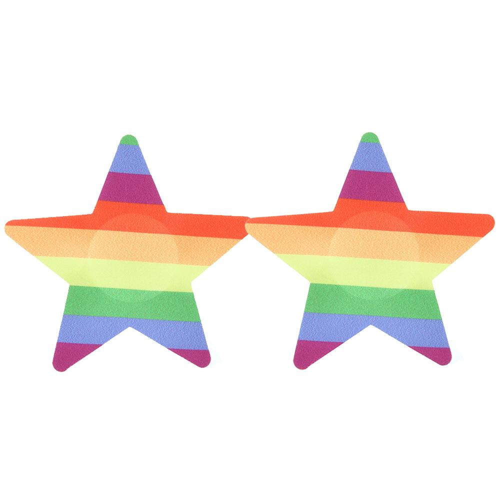 Rainbow Pasties 2 Pack - Sex Toys Vancouver Same Day Delivery