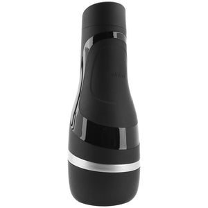 Satisfyer Men Classic Masturbator in Black & Silver - Sex Toys Vancouver Same Day Delivery