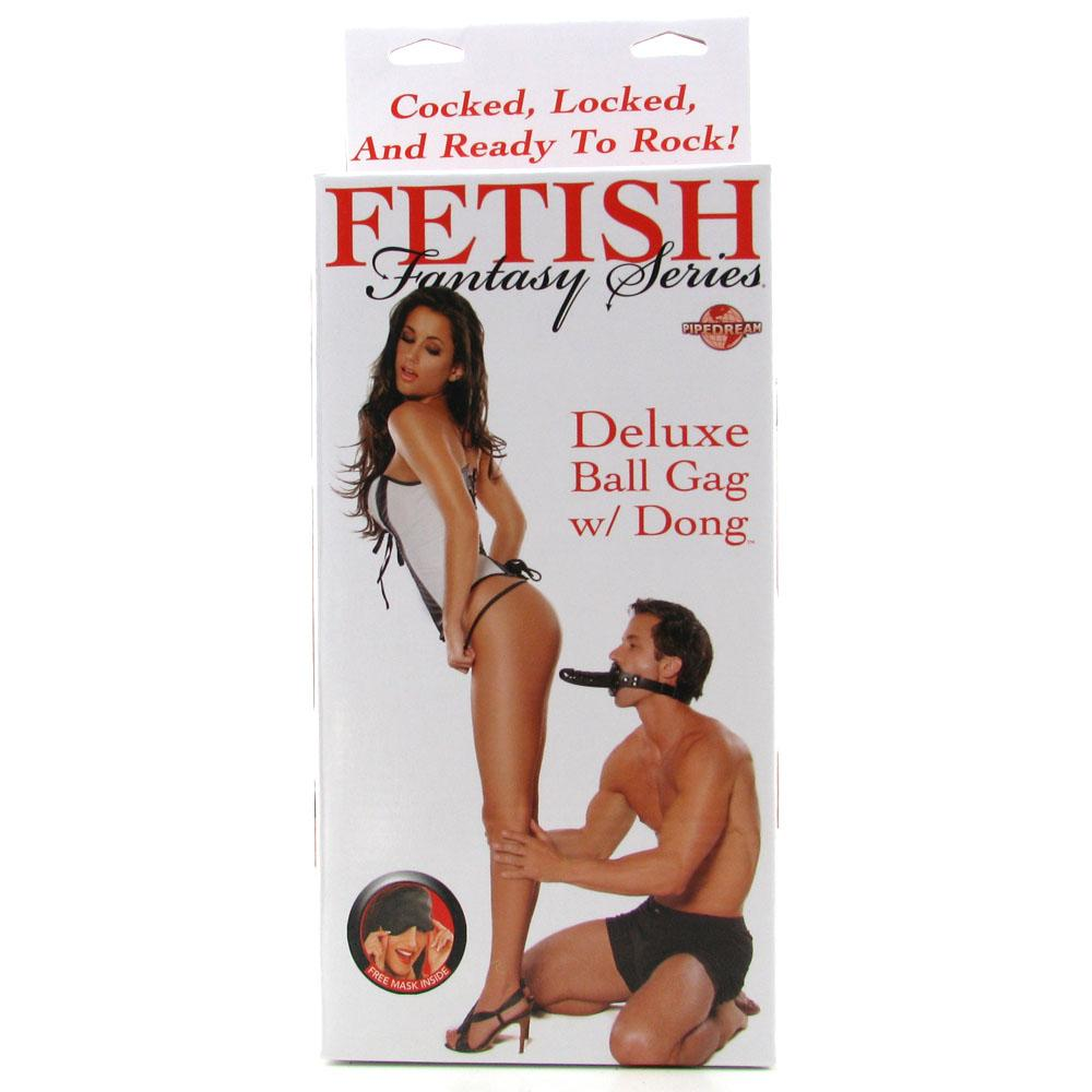 Fetish Fantasy Deluxe Ball Gag with Dildo - Sex Toys Vancouver Same Day Delivery