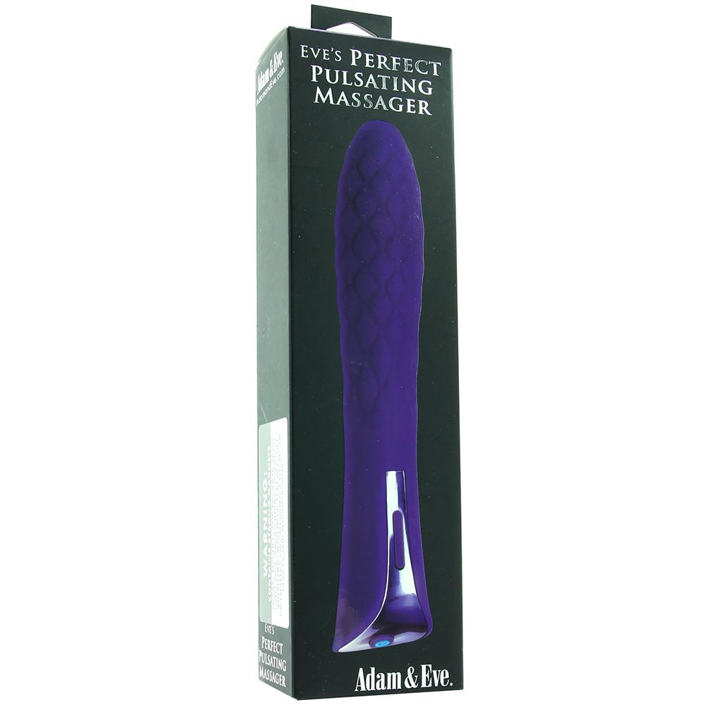 Eve's Perfect Pulsating Massager - Sex Toys Vancouver Same Day Delivery