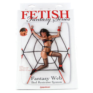 Fetish Fantasy Web Bed Restraint System - Sex Toys Vancouver Same Day Delivery